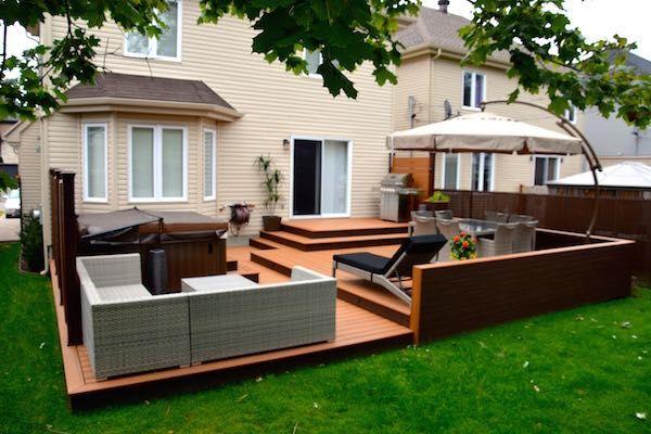 17 meilleures id es propos de composite deck boards sur for Modele de patio exterieur en bois