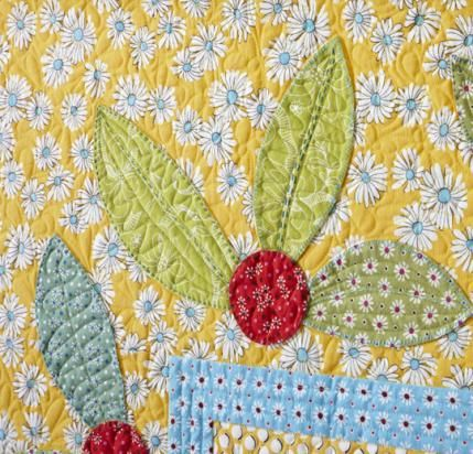 Flowers and Leaves Quilting Designs ~ Fresh New Attitude