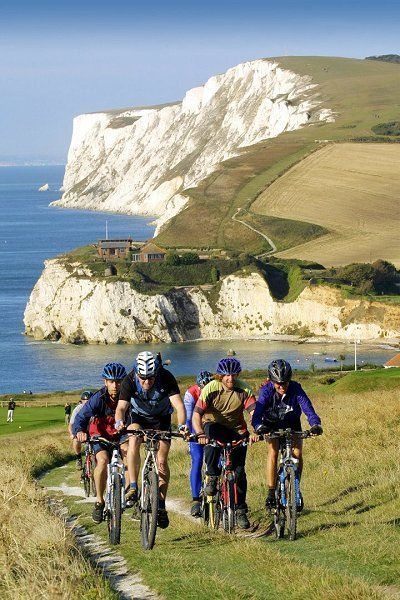 20 World's Best Cycling Routes That'll Take Your Breath Away- Isle of Wight, Great Britain.  Start planning your next adventure now! #bike #touring