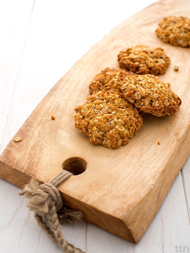 Wegańskie Anzac biscuits
