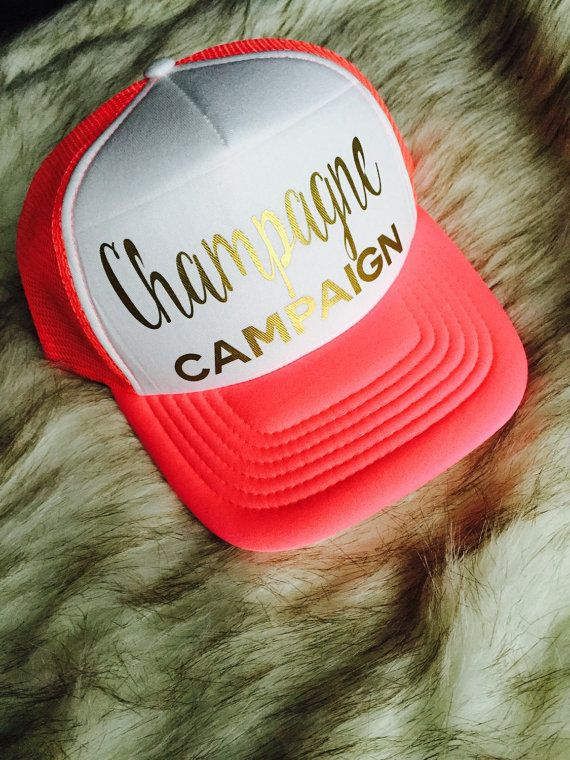 Champagne Campaign Hat set 3 hats included by Preparewear on Etsy