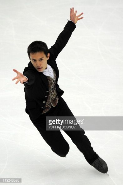 Canada's Patrick Chan performs during the men's free skating event of the ISU World Figure Skating Championships on April 28, 2011 in Moscow.