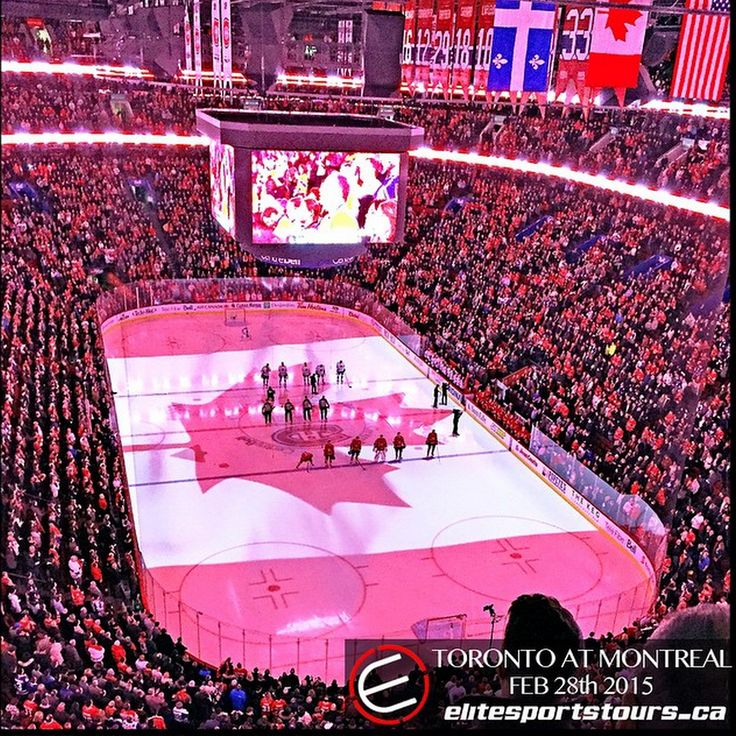 Elite was in Montreal this past weekend to watch the Leafs vs Habs in the Bell Centre! Do you want to watch the Habs during the playoffs in the most lively hockey atmosphere in the NHL?  Check out http://www.elitesportstours.ca/sports-tickets/nhl-tickets for your tickets so you can #jointheelite !  #whatdidyoudothisweekend