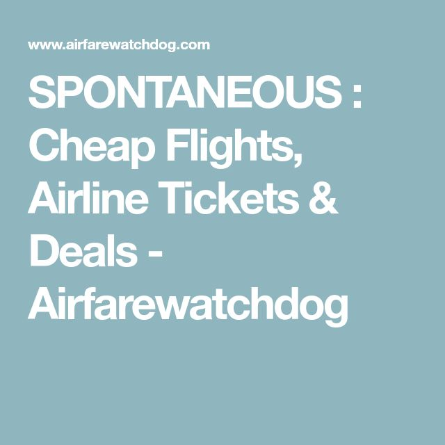 how to get deals on flight tickets