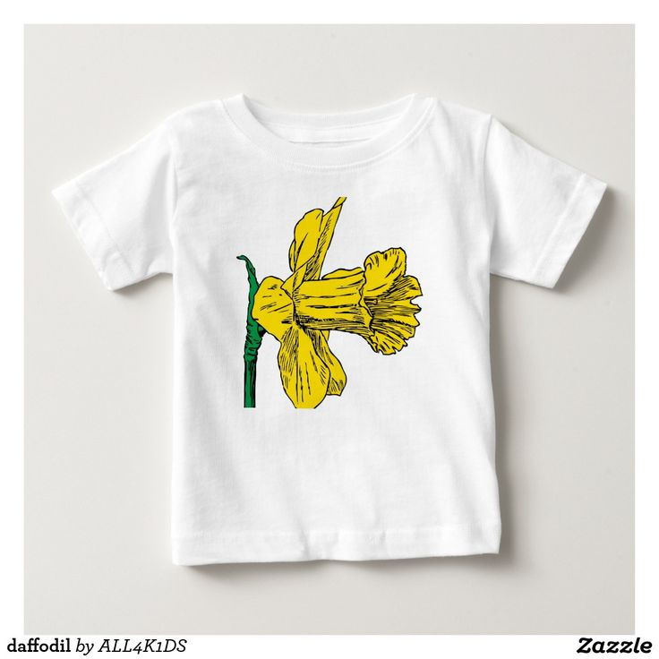 daffodil baby T-Shirt kid flower