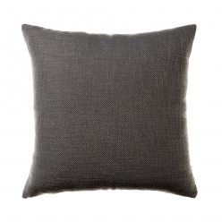 Mercer + Reid Reefton Cushion Graphite, black cushion, large cushions