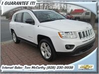 Used 2011 Jeep Compass Asheville NC 4WD 2.4L 4 Cyl. Gas automatic 4Dr. SUV One Owner Low Miles Low Mileage Jeep Compass for sale in North Carolina at Asheville Chevrolet