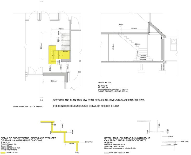 Pfeiffer Design Has Been Working On The Of Stairs For Our New Residential Architectural DrawingsInterior