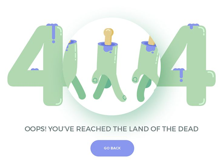 Kicking off the week with a freshly baked 404 page, Check it out @2x and some bigger attachments available.