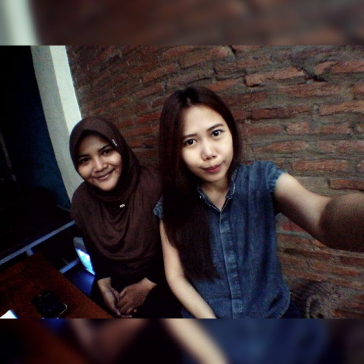 Hangout with ulan at essprezza cafe, makassar