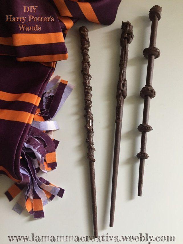 Bacchette magiche Harry Potter Fai Da Te! Semplici e veloci!