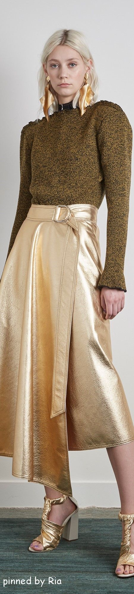 Veronique Leroy Pre Fall 2016 l Ria women fashion outfit clothing style apparel @roressclothes closet ideas