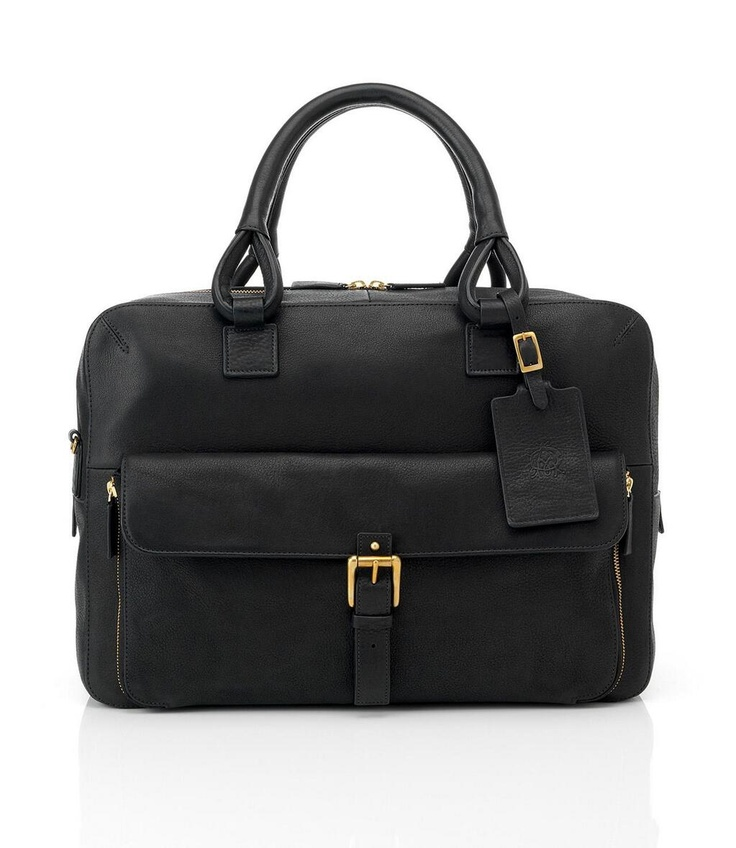 """""""Alfred Dunhill: The perfect weekend away starts with perfect luggage, """" Got a few of them!  Holla"""