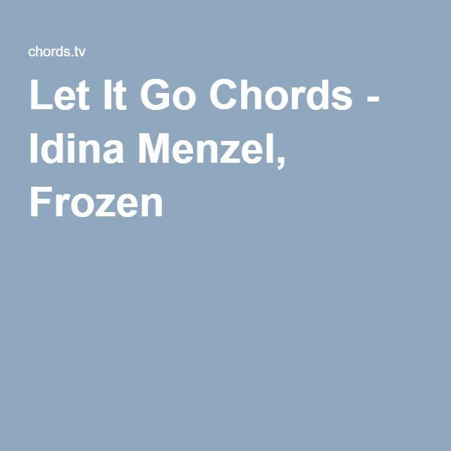Ukulele u00bb Ukulele Chords Let It Go - Music Sheets, Tablature, Chords and Lyrics