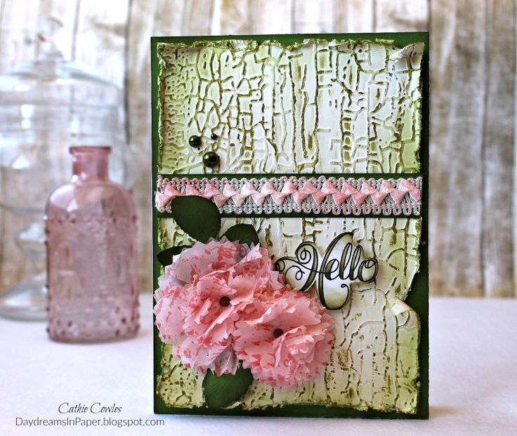Hello Card by Cathie Cowles | www.tammytutterow.com
