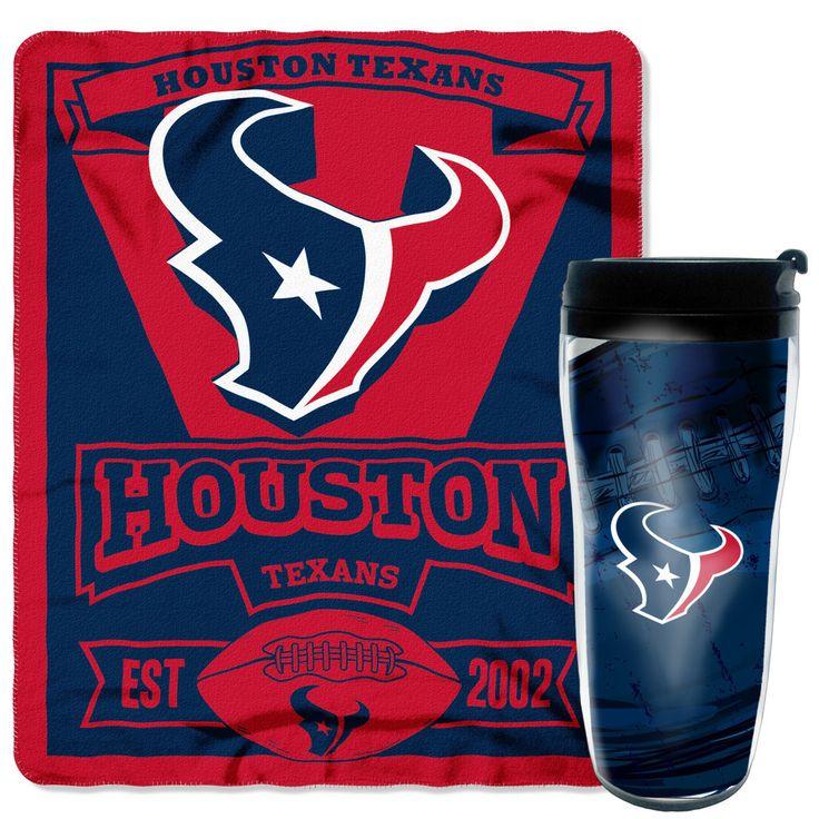 NFL Texans Mug N Snug Set