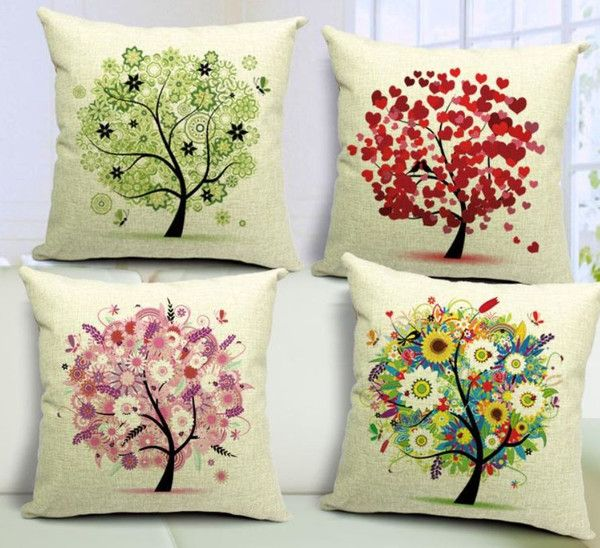 The tree of life brings a breath of fresh air to your home this year with these beautiful cushion covers by OzUrban. Love, Pink, Green, Colours, Feathers and Flowers are jam-packed into this set of cushion covers for your modern home. http://ozurban.com #cushions #cushioncovers #homedecor #interiordesign #australianhome #tree