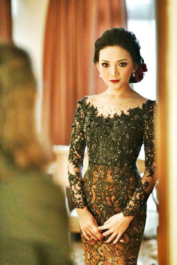 41 Best Kebaya Atas Images On Pinterest Indonesia Atasan Raya Beige Shop At Velvet Wedding Lace Simple Modern Model Brokat Casual Outfits