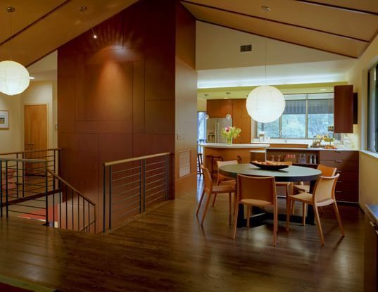 1980s Kitchen Shines With Skyline Views | Remodeling | McKinney York Architects, Longboard Construction, Austin, Texas, Single Family, Renovation/Remodel, Interiors, Kitchen, Modern, Kitchen Remodeling, Remodeling Design Awards 2008