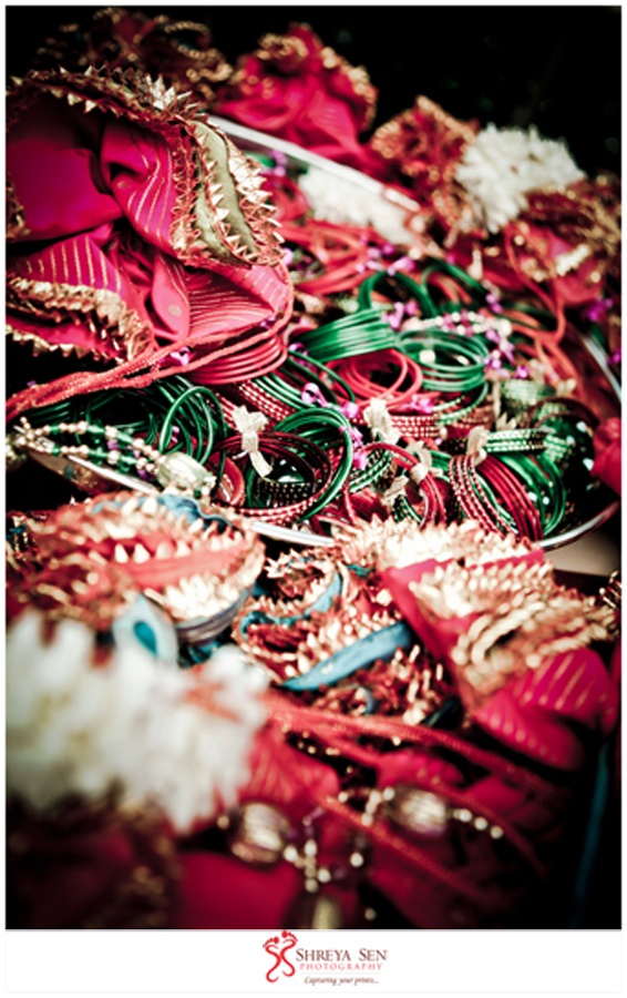 Indian Bangles, Radhika & Vikas Mehndi -Shreya Sen Photography