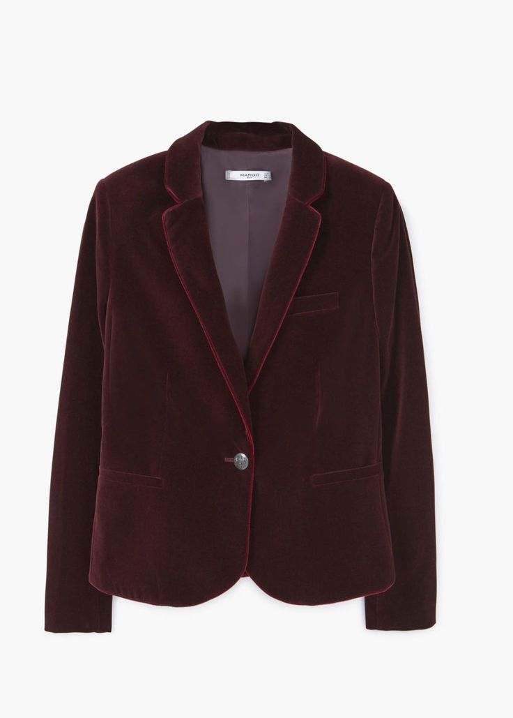 11 motivi per cui vorrai indossare un blazer di velluto questo inverno