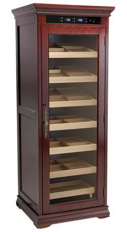 The Remington Electronic Cabinet Cigar Humidor RMGTN - The Elegant Bar - 1