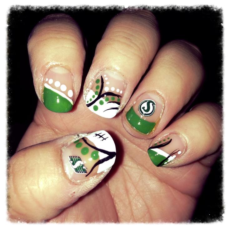 New Saskatchewan Roughriders nails