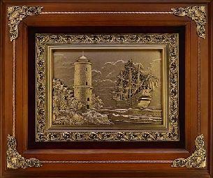 Деревянное панно Маяк - Панно в деревянной раме <- Панно и рамки - Каталог | Универсальный интернет-магазин подарков и сувениров