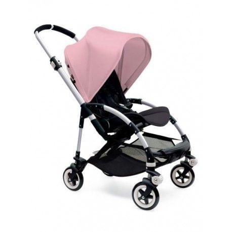 El coche Bugaboo más urbano. Compacto, cómodo, ligero y fácil. Para padres que viven la vida al vuelo. Incluye un capazo ligero y una capota extensible con más protección. Plegado en una pieza con la silla.