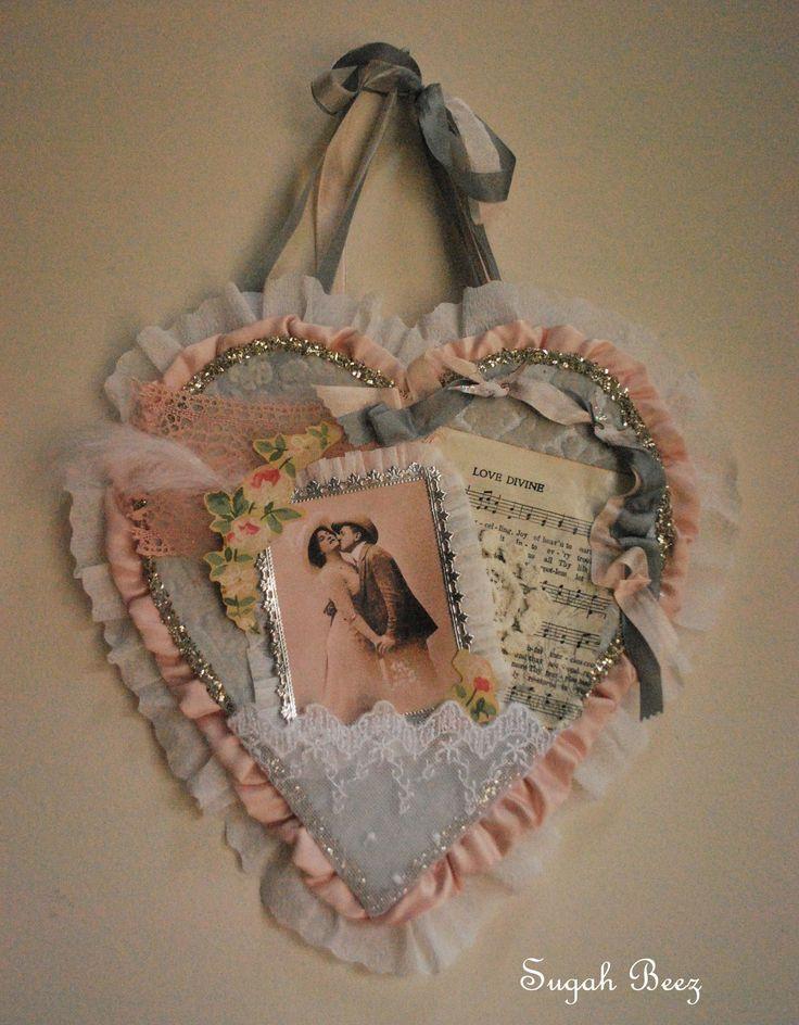 Sugah Beez: Vintage Valentine Swap