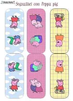 Segnalibri Peppa Pig — Mondo Bimbo