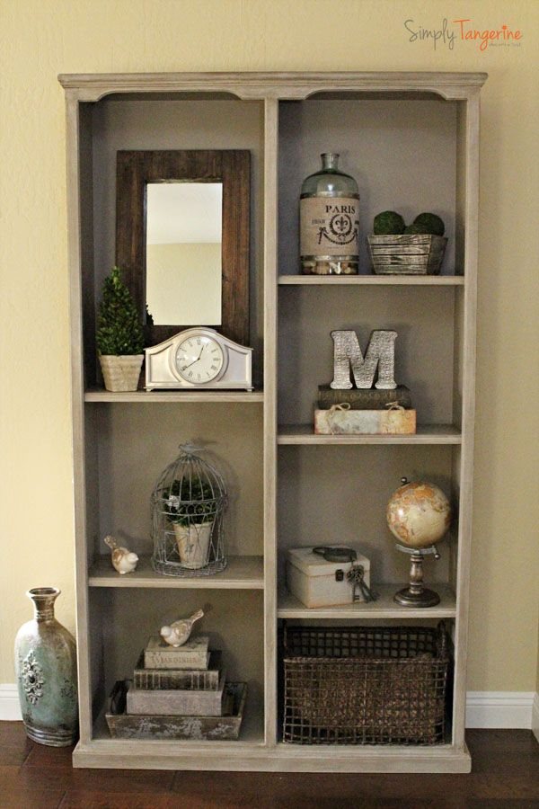 Decorating A Bookshelf Without Books