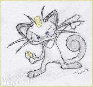 Pokemon #52- Meowth - Payday