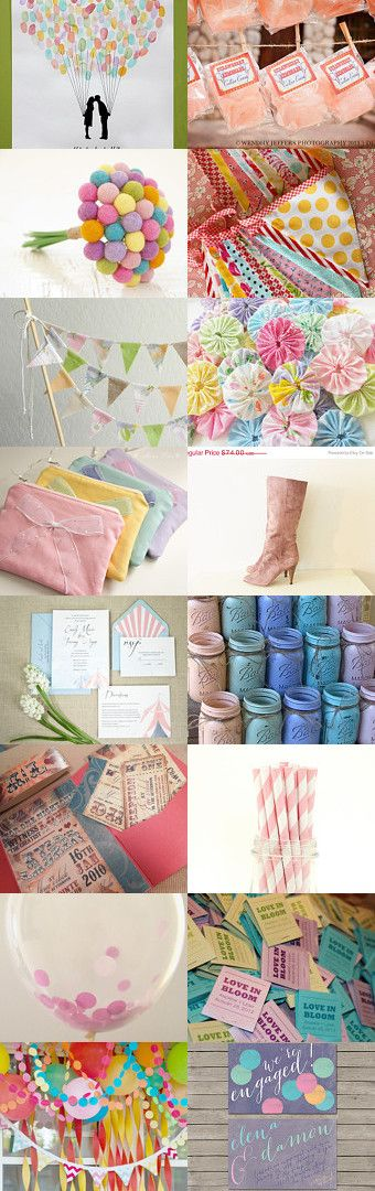 Boardwalk Stroll Wedding Theme by Kandice Kelso on Etsy--Pinned with TreasuryPin.com
