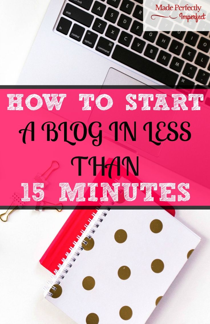 Are you a stay at home parent looking for a legitimate way to make money at home? Start a blog in less than 15 minutes and earn extra money today!