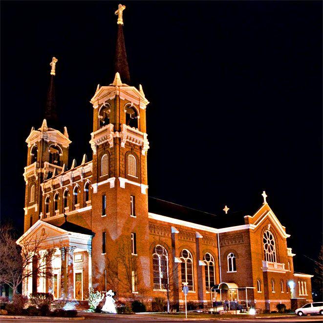 St. Aloysius  Church, Gonzaga University,  Spokane, Washington