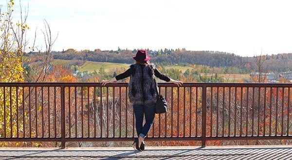 Edmonton, fall fashion