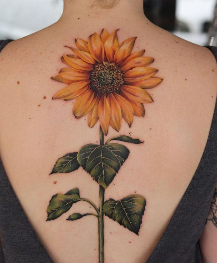 55+ Most Beautiful Sunflower Tattoos Ideas For Women in 2020 | Sunflower tattoos, Beauty tattoos, Girl tattoos