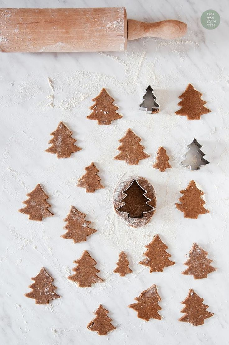 Christmas tree cookies. Holiday sweets are the best part of the season - baking is a great way to get the family together!