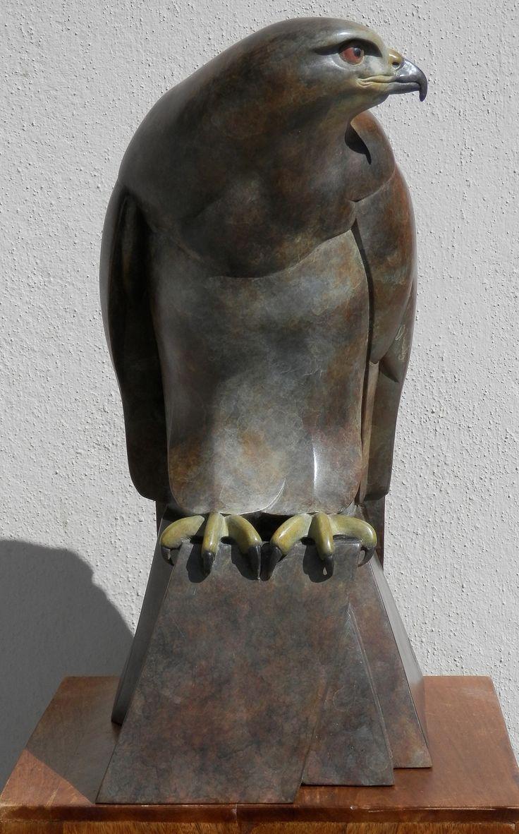 Ama Menec ~ Female Buzzard ~ Bronze Sculpture                              …