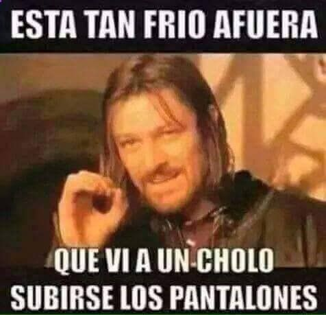Memes de risa: Eso significa que sí hace frío → #memesdivertidos #memesenespañol #memesparafacebook #Memestumblr #Memeswhatsapp