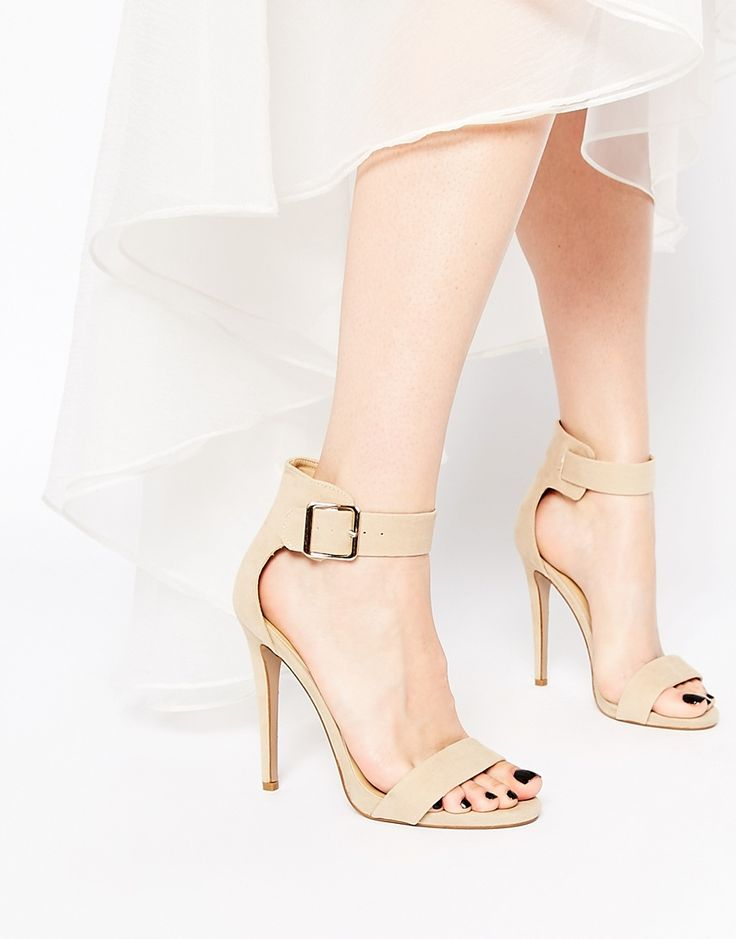 Image 1 of Truffle Collection Rita Barely There Heeled Sandals