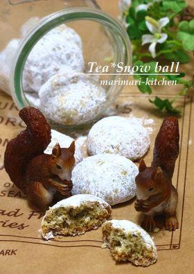 「紅茶のスノーボール」marimari | お菓子・パンのレシピや作り方【corecle*コレクル】