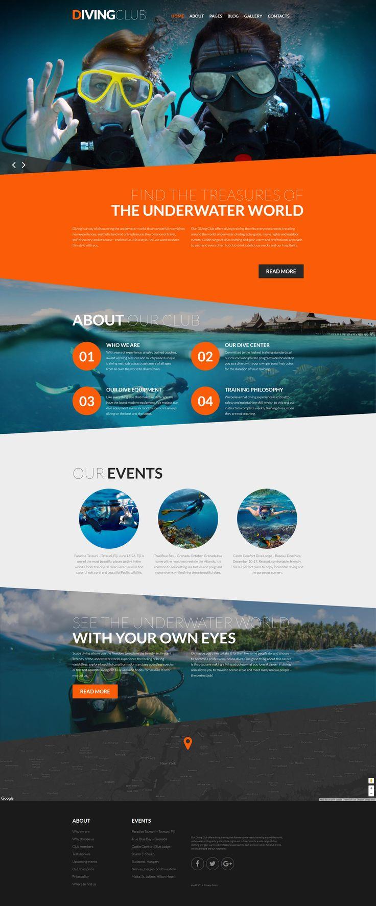 Diving Responsive Joomla Template - https://www.templatemonster.com/joomla-templates/diving-responsive-joomla-template-61260.html