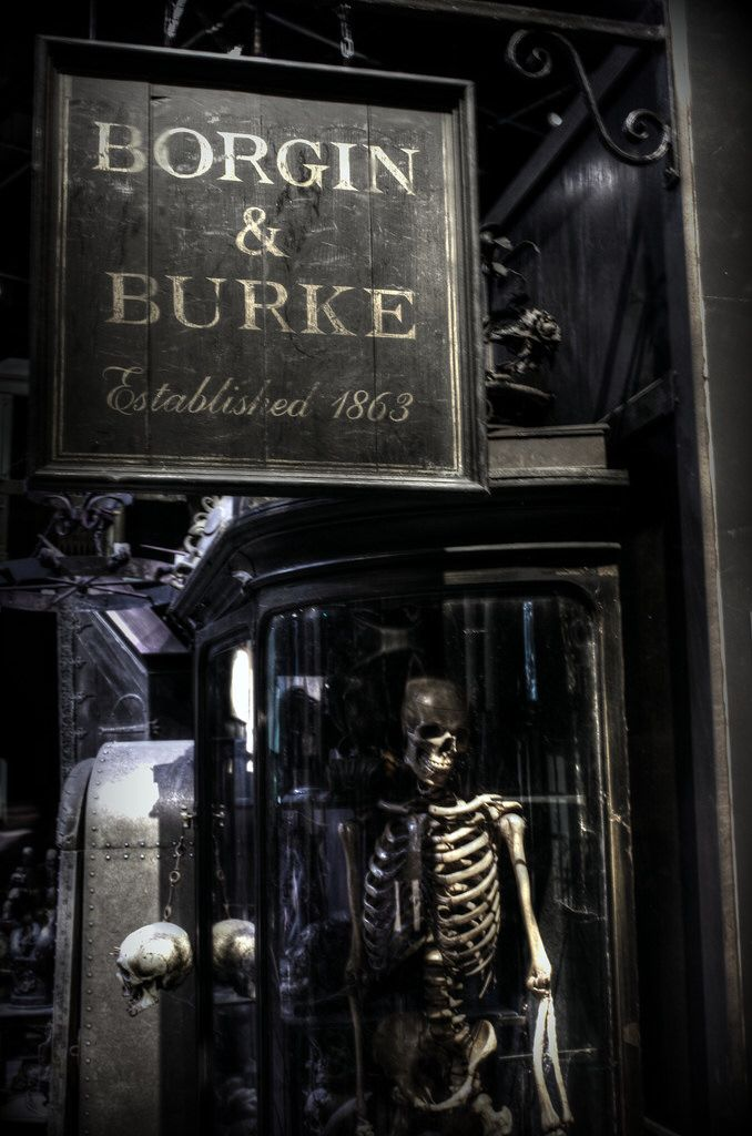 Harry Potter- Diagon Alley- Borgin&Burkes
