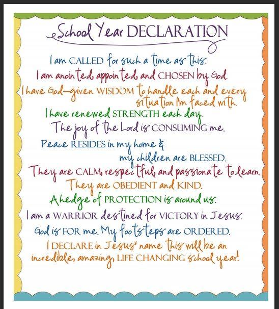 mama hall: back to school prayer printable