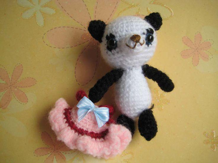 Amigurumi Patterns Panda Bear : The 8 best images about Free Panda Bear Crochet Patterns ...