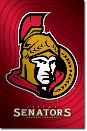 Ottawa Senators Logo | NHL | Sports | Hardboards | Wall Decor | Pictures Frames and More | Winnipeg | Manitoba | MB | Canada