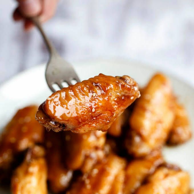 Sweet Spicy Coca Cola Chicken Wings