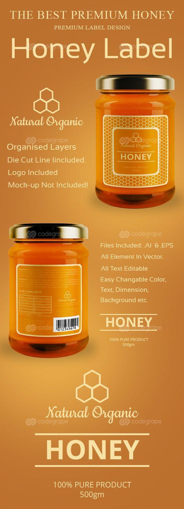 The 25 best ideas about Honey Label – Label Design Templates